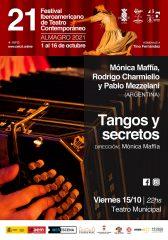 Cartel 14 – Tangos y secretos – FITCA 2021
